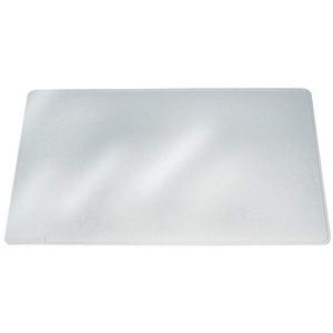 Durable 711219 Schreibunterlage Duraglas, 40 x 53 cm, rutschfest, blendfrei, transparent