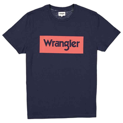 Logo T-Shirt tee | Wrangler navy L