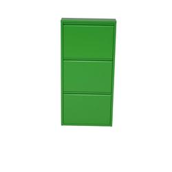 moebel-direkt-online Schuhschrank Chris (1-St) nur 15 cm tief, ideal für schmale Räume grün