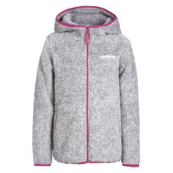 Icepeak Lindsay Jr. Fleecejacke - Kinder Grey/Pink