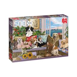 Jumbo Spiele Puzzle Puzzles bis 500 Teile JUMBO-18849, Puzzleteile