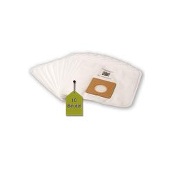 eVendix Staubsaugerbeutel 10 Staubsaugerbeutel Staubbeutel passend für Staubsauger Clatronic BS 1275 ECO, passend für Clatronic