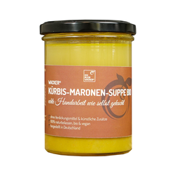 Wacker Kürbis-Maronen-Suppe Bio, 360 ml