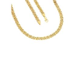 Firetti Goldkette Glanz, oval, Königskettengliederung 50