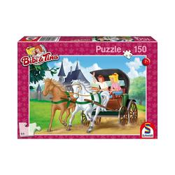 Schmidt Spiele Puzzle Puzzle Bibi & Tina, Kutschfahrt, 150 Teile, Puzzleteile