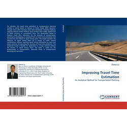 Improving Travel Time Estimation als Buch von Chenxi Lu