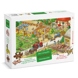 Bauernhof Puzzle 48 Teile XXL