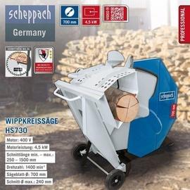 SCHEPPACH HS730 inkl. Ersatzsägeblatt