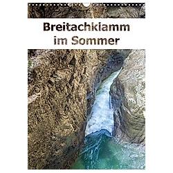 Breitachklamm im Sommer (Wandkalender 2021 DIN A3 hoch)