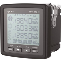 ENTES MPR-34S-20-72 Digitales Einbaumessgerät MPR-34S-20-72 Multimeter Einbauinstrument 2x Digitale