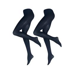 2 Paar blickdichte Strumpfhosen