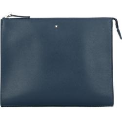 Montblanc Montblanc Sartorial Herrenhandtasche Leder 27 cm indigo