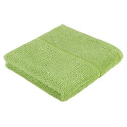 Möve for frottana Handtuch Pearl (1-St), mit Perloptik grün