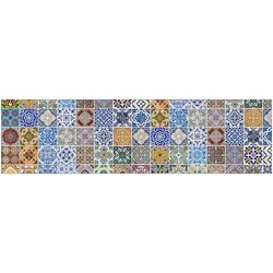 Küchenrückwand fixy Pablo Fliese bunt 220 cm