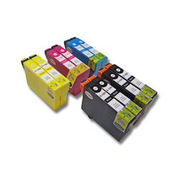 10 x vhbw Druckerpatronen Tintenpatronen Set passend für Epson Stylus Office BX300, BX300F, BX305, BX305F, BX320FW.