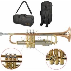 Steinbach Bb-Trompete Steinbach Bb- Trompete STRHG-300 Rotmessing mit Monelventilen