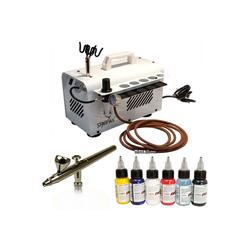 Airbrush-City Druckluftwerkzeug komplett Airbrushset für viele Anwendungen No.6001, (1-St)