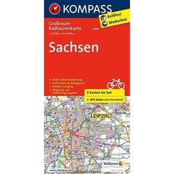 Sachsen 1:125 000 - Fahrradkarten