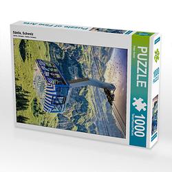 Säntis, Schweiz Lege-Größe 48 x 64 cm Foto-Puzzle Bild von Peter Roder Puzzle