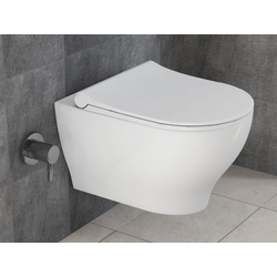 Aqua Bagno Tiefspül-WC Aqua Bagno spülrandloses Dusch-WC Taharet Taharat
