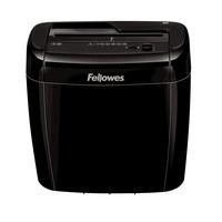 Fellowes Powershred 36C Aktenvernichter Kreuzschreddern Schwarz