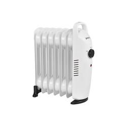 Pro-tec Ölradiator, 700 W, Mobile Elektroheizung 700W Heizkörper weiß 31.5 cm x 140 m x 37 cm x 13.4 cm