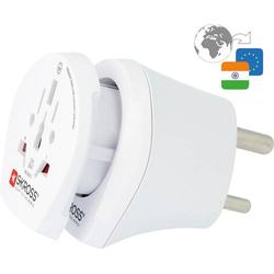Skross 1.500215-E Reiseadapter CO W to IND