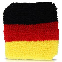 WM Schweißband Deutschland 2er-Set