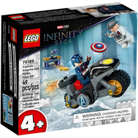 Lego Marvel Super Heroes Duell zwischen Captain America und Hydra 76189