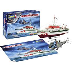 Revell 05683 DGzRS Berlin + Sea King  Good Bye Set  Schiffsmodell Bausatz 1:72