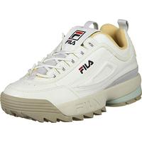 Fila Disruptor Low Wmn Sneaker, Creme Grau
