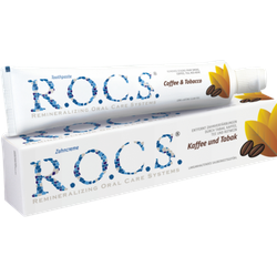 ROCS Erwachsene Kaffee+Tabak Zahnpasta 74 g
