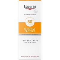 Eucerin Sensitive Protect Face Sun Creme LSF 50+ 50 ml