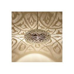 Casa Moro Hängeleuchte Orientalische Hängeleuchte Sefrou D50 Silber, EL2375