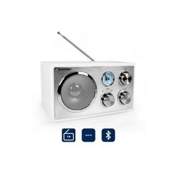 Blaupunkt RXN 180 WH, Vers. 2018 Radio (UKW, 3 W, Blaupunkt RXN 180 Retro Radio mit Bluetooth)