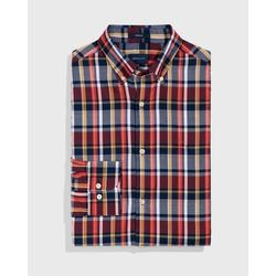 Gant T-Shirt GANT / He.T-Shirt / D1. OXFORD PLAID REG BD rosa XXXL