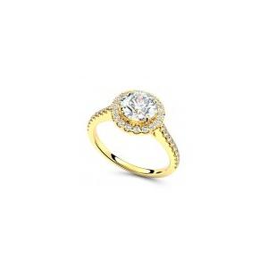 Verlobungsring VR09 585er Gelbgold - 8107