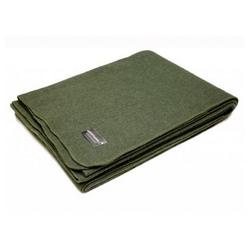 Wolldecke Wolldecke oliv neu (225 x 150 cm), A. Blöchl grün 150 cm x 225 cm