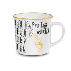 Nici Tasse Eine Tasse voll Glück Metallic