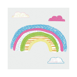 RoomMates Wandsticker Wandsticker, Pattern Rainbow