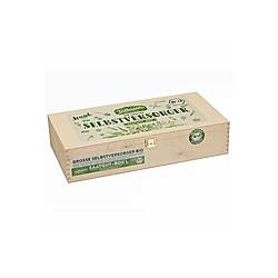 Saatgut-Holzbox Selbstversorger  22 BIO-Saatgut-Sorten