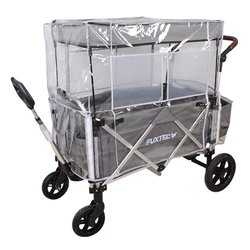 Regenschutz transparent für Bollerwagen CTL900