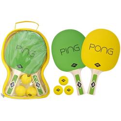 Donic-Schildkröt Tischtennisschläger - Tischtennis-Set Ping Pong