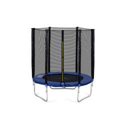 Gotui Gartentrampolin, 6FT Fitnesstrampolin mit Sicherheitszaun und Gepolsterte Stangen, tragend 80 kg