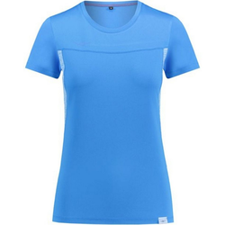 Kaikkialla T-Shirt KAIKKIALLA Airi Lauf T-Shirt funktionelles Damen Wander-Shirt Bergsteigen Blau