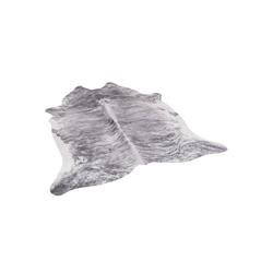 Fellteppich Kunstfaser Teppich Rinderfell, Pergamon, Rechteckig, Höhe 7 mm 77 cm x 100 cm x 7 mm