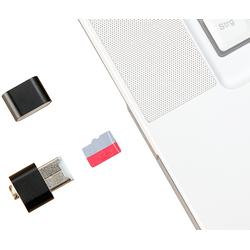 Mini-Cardreader für microSD(HC/XC)-Karten bis 128 GB & USB-Stick
