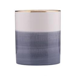 Övriga varumärken Topf Grau/Weiß 13 cm
