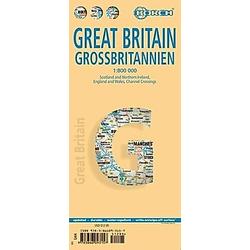 Borch Map Großbritannien; Great Britain - Buch
