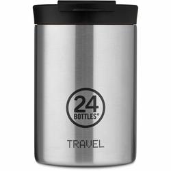 24Bottles Basic Travel Filiżanka do picia 350 ml steel
